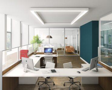 A light and modern office