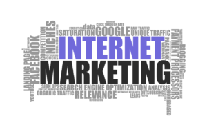 An internet marketing concept