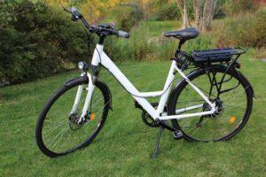 A ladies electric bike
