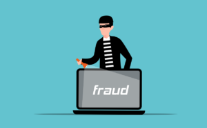 A computer fraud concept