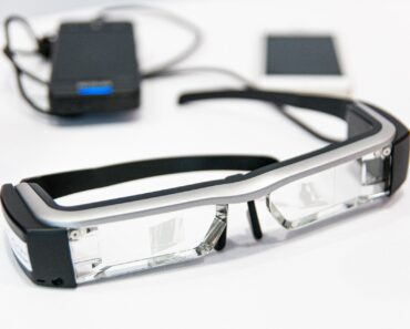 A pair of Google glasses and controller unit