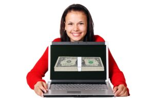 Making money using a laptop