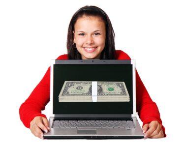 Making money using a laptop