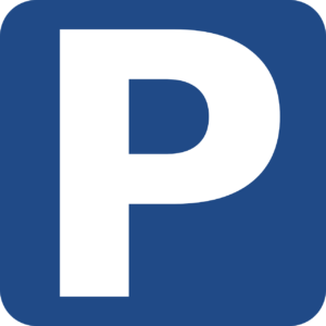 A parking road sign