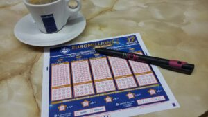 Playing the Euromillions lottery