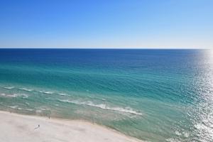 The Panama City beach in Florida