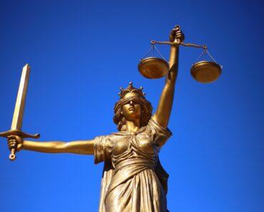 A legal justice statue
