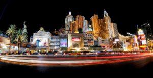 Casinos on the Las Vegas strip