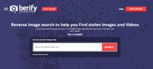 Berify reverse video searching
