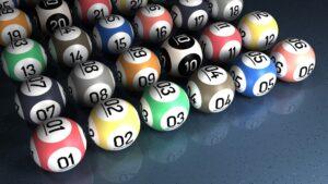 Many bingo balls
