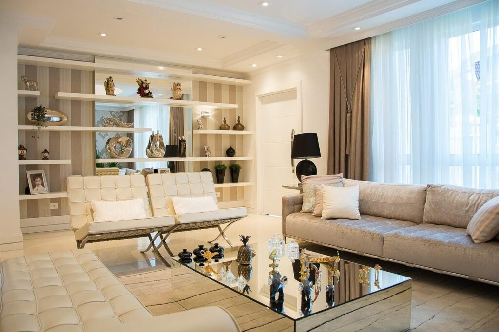 A desirable and well designed living room