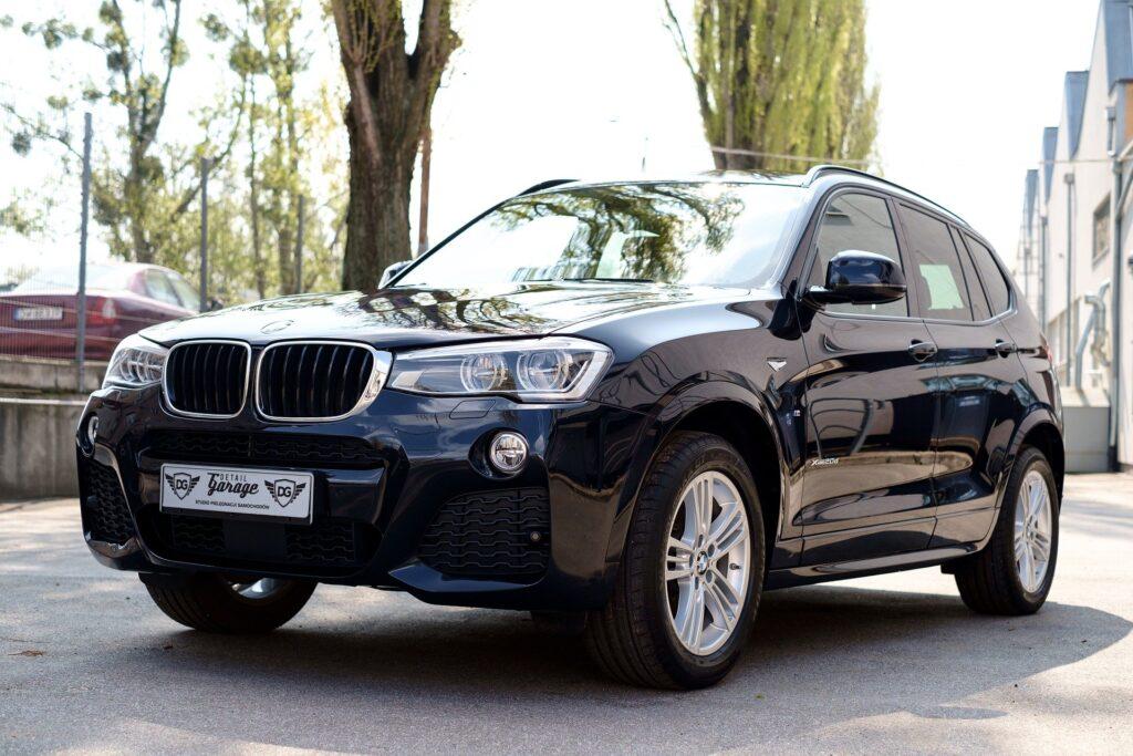 A new BMW X3 car