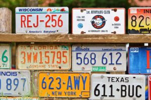 Collecting license plates