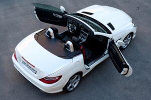 A Mercedes SLK car