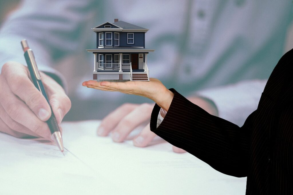 A Property and mortgage concept