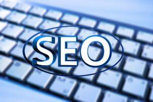 A search engine optimization (SEO) concept