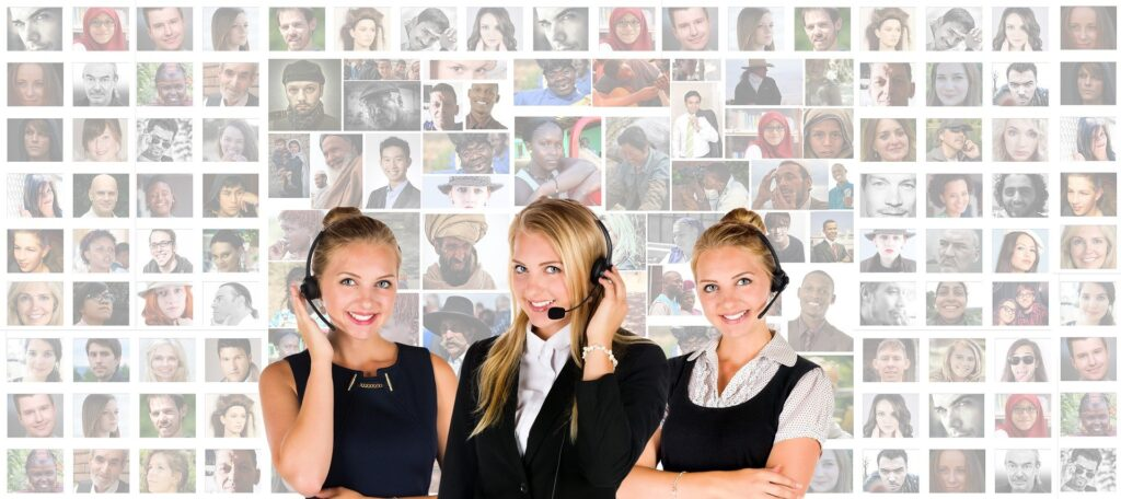 Call centre support agents