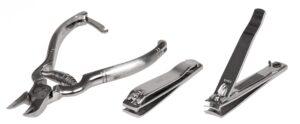 Various nail clippers