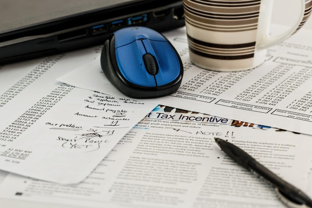 Preparing tax forms