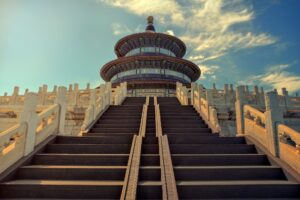 A temple in Beijing, China