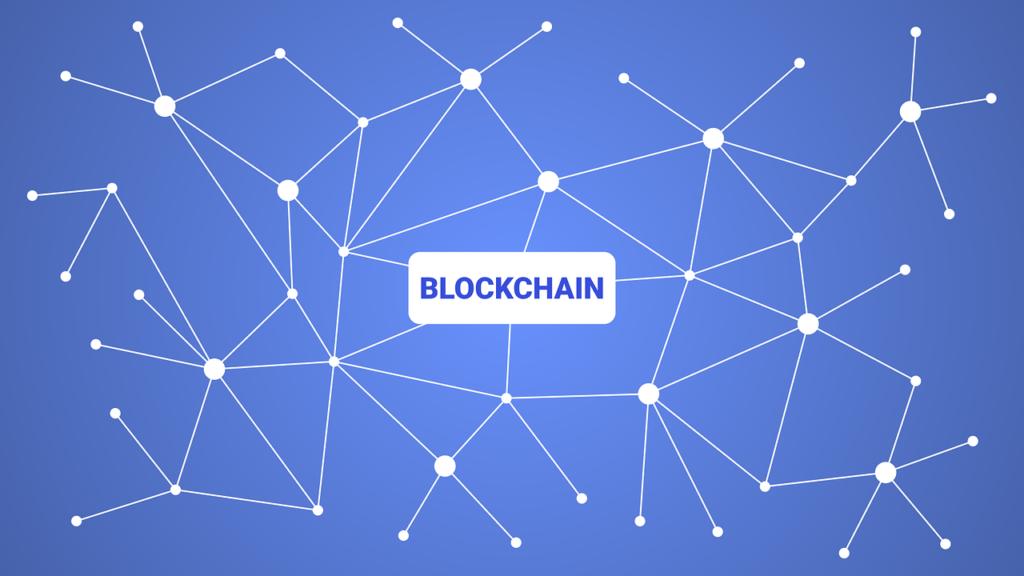 A blockchain graphical concept
