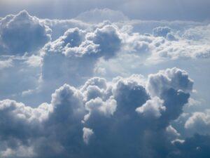 A impressive cloud formation