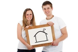 A couple purchase a home