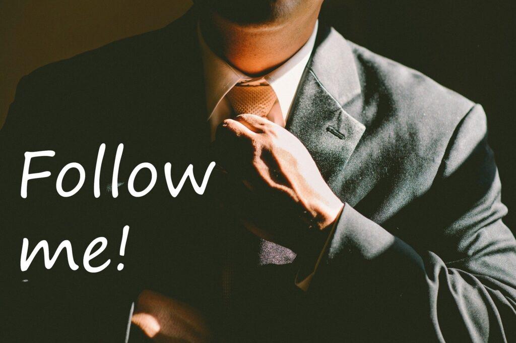 Follow me - a leadership concept
