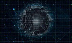 A network technology concept