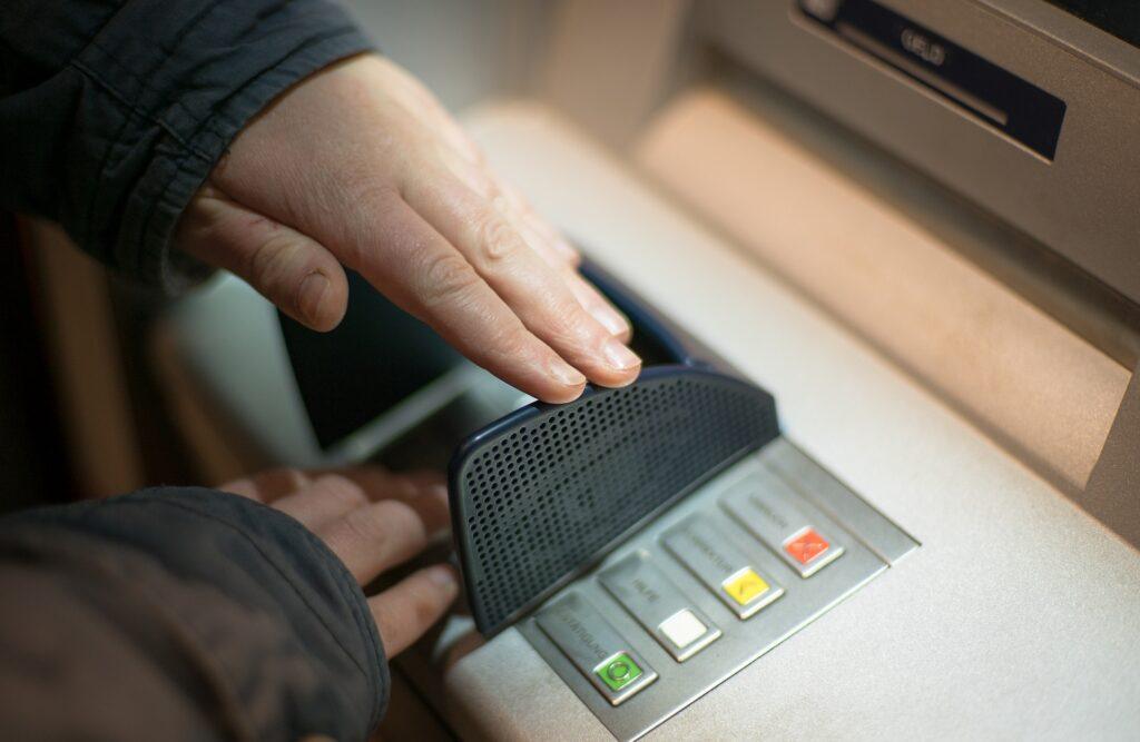 Committing ATM fraud