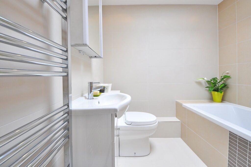 A modern luxury bathroom
