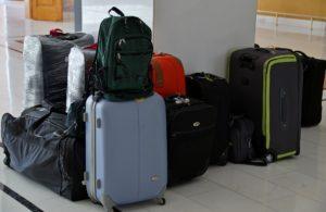 Cruise holiday luggage