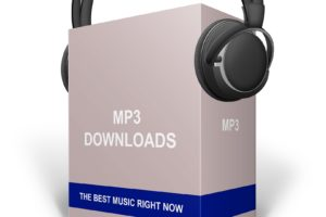 mp3 music downloads concept