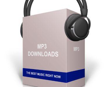 mp3 music downloads concept