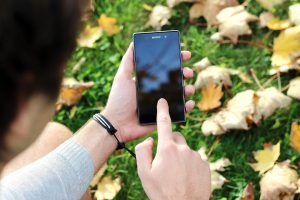 Using a Sony smartphone