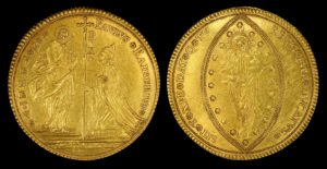 Collectable gold coins