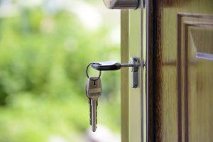 Keys to a new property