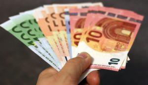 A handful of Euros