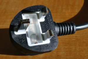 An electrical appliance plug