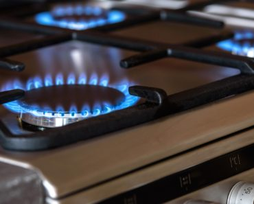 Gas burners for cooking