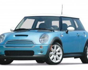 Blue Mini car