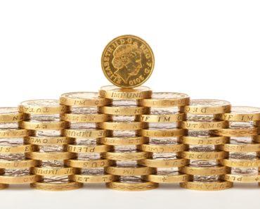 Saving pound coins