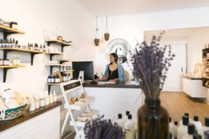 A small business retailer