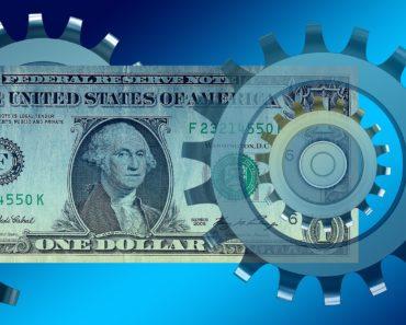 A money and economy concept