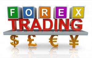 Forex trading concept