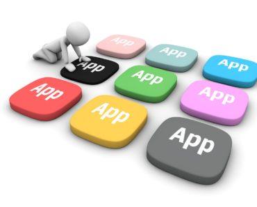 Finance apps concept