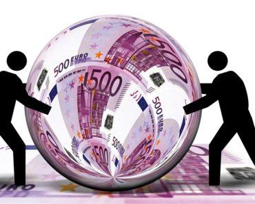 Money exchange graphic
