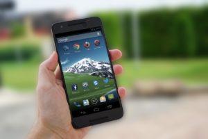 Google Nexus mobile phone
