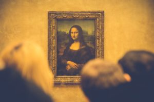 The Mona Lisa original art