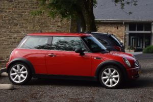 A Mini car available with finance